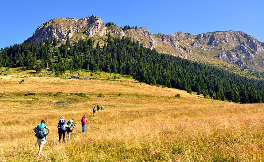 Trekking peaks of the balkans